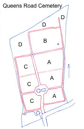 Cemetery Layout